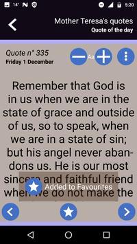 Mother Teresa's quotes screenshot 6