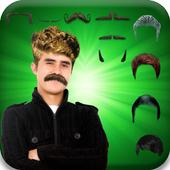 Men Hair Changer & Mustache icon