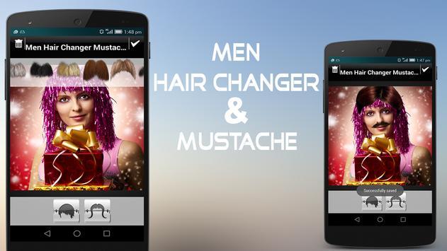 Men Hair Changer & Mustache poster