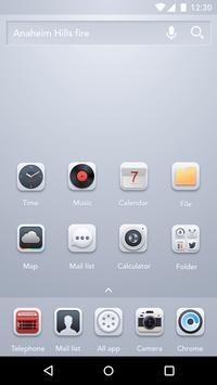 Realistic Style - Hello Launcher Theme screenshot 1
