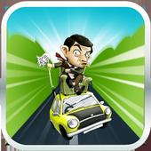mr pean funny racing icon
