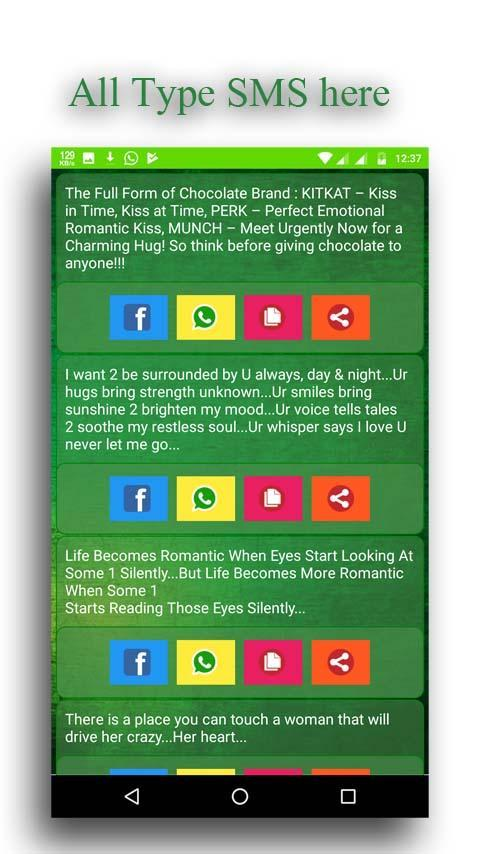 Funny status : jokes,SMS & shayri for Android - APK Download