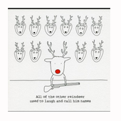 Funny Christmas Card Sayings icon
