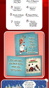 Funny Christmas Card Sayings poster