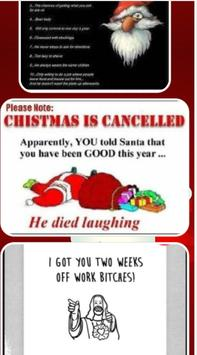 Funny Christmas Card Sayings screenshot 1