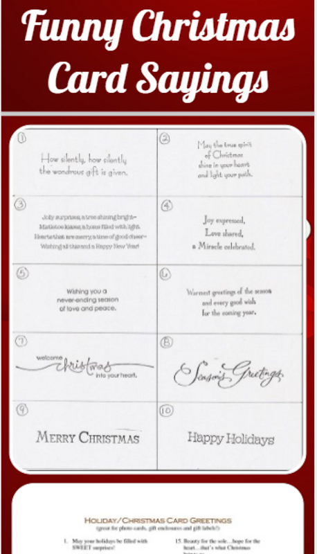 Funny Christmas Card Sayings For Android Apk Download
