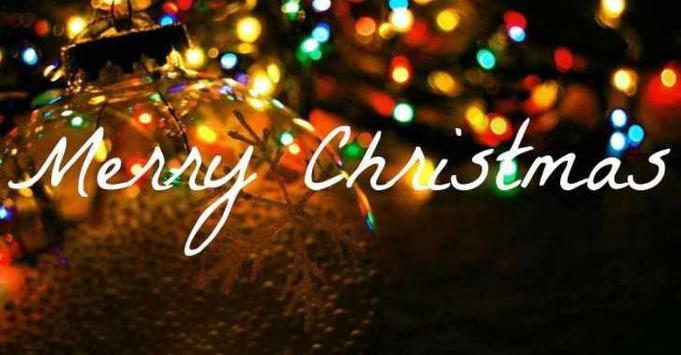 Merry Cristmas Photo poster