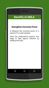 Benefits of Amla apk screenshot