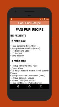 Panipuri Golgappa Recipe poster