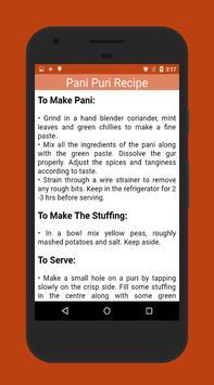 Panipuri Golgappa Recipe apk screenshot