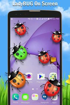 Ladybug on Screen apk screenshot