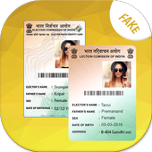 Fake Voter ID Card icon