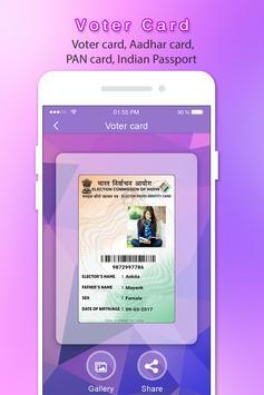 Fake Voter ID Card apk screenshot