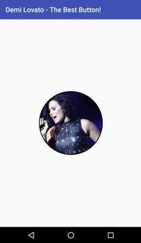 Demi Lovato - The Best Button! poster
