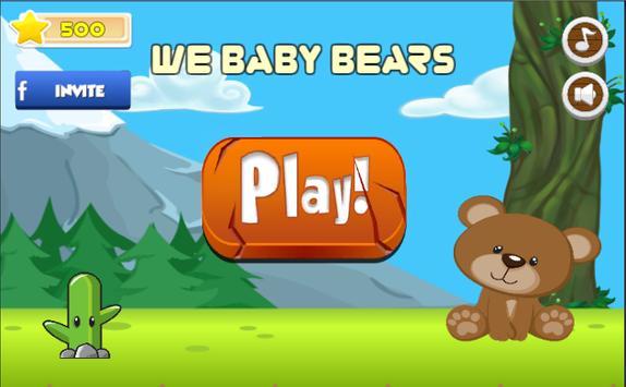 We Baby Bear Run - Jungle The Adventure Series poster