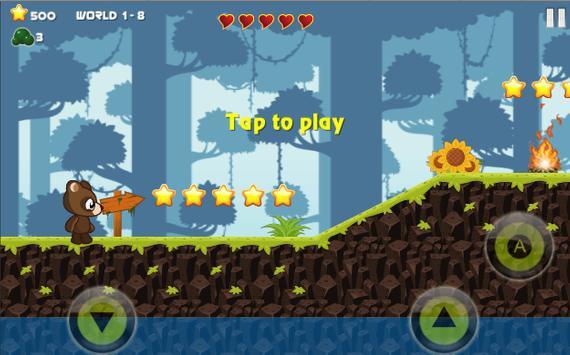 We Baby Bear Run - Jungle The Adventure Series apk screenshot