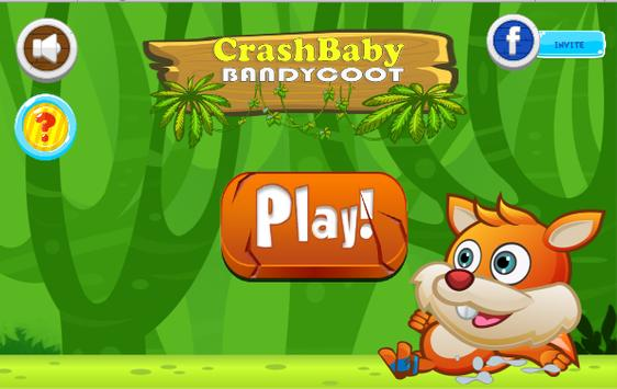 Crash Baby Bandycoot - Jungle The Adventure Series poster