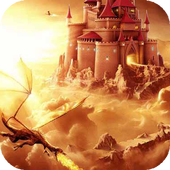 Dragon come to the castle LWP icon