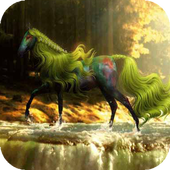 Fabulous horse live wallpaper icon