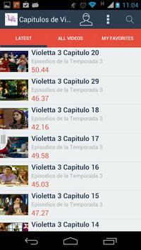 ViolettaCapis screenshot 1