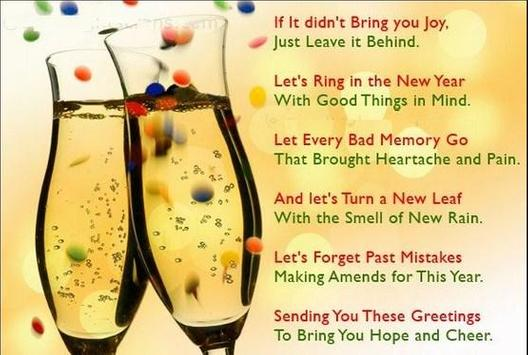 Funny New Year Wishes poster
