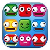 Match 3 Funny Smile Deluxe icon