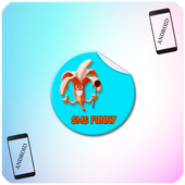 funny sms & android ringtones icon