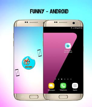 funny sms & android ringtones poster