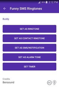 Funny SMS Ringtones screenshot 1