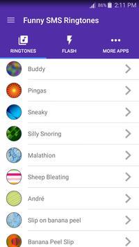 Funny SMS Ringtones screenshot 7