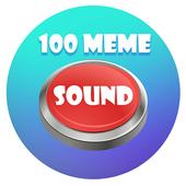 100 meme Sound buttons icon