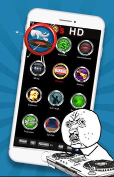 100 meme Sound buttons poster