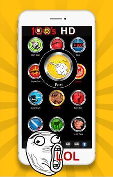 100 meme Sound buttons screenshot 2