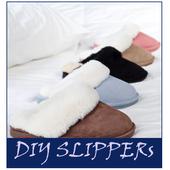 funny slippers idea icon