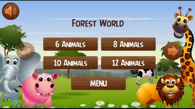 Animals Memory screenshot 3