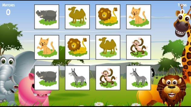 Animals Memory screenshot 6