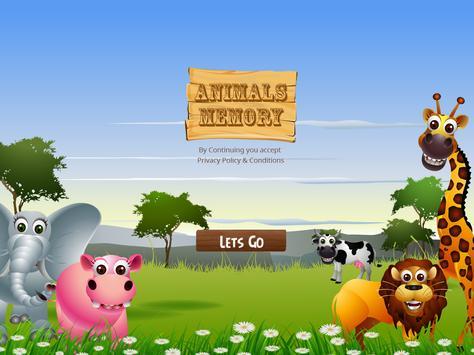 Animals Memory screenshot 8