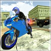 Motorbike vs Cop Car Chase icon