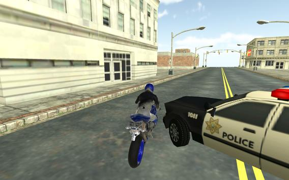 Motorbike vs Cop Car Chase poster