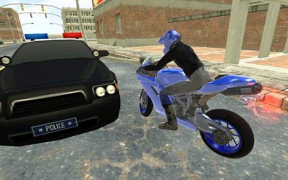 Motorbike vs Cop Car Chase apk screenshot