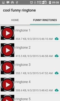 Cool Funny Ringtone apk screenshot