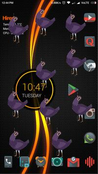 Trash Dove on screen prank apk screenshot