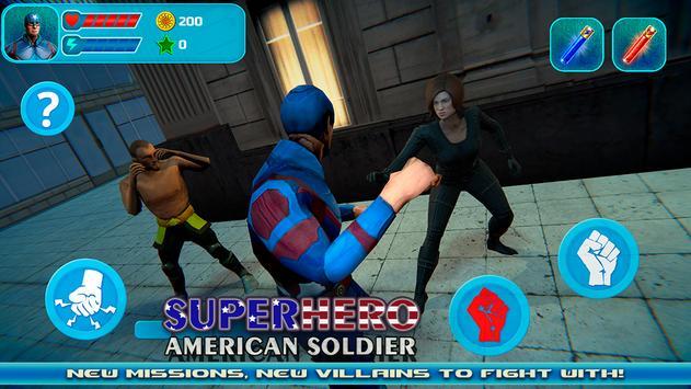 Superhero: American Soldier apk screenshot