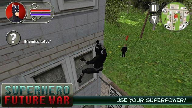 Superhero: Future War apk screenshot