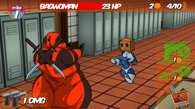 FatKid VS Super Heroes screenshot 1