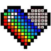 Coloring Pixel art Book - coloring by number 2018 icon