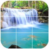 Thailand Waterfall Tile Puzzle icon