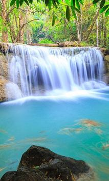 Thailand Waterfall Tile Puzzle poster