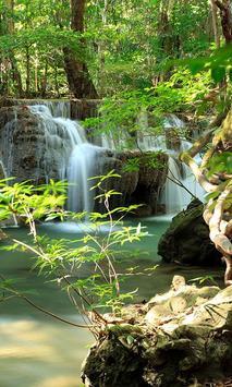 Thailand Waterfall Tile Puzzle screenshot 1