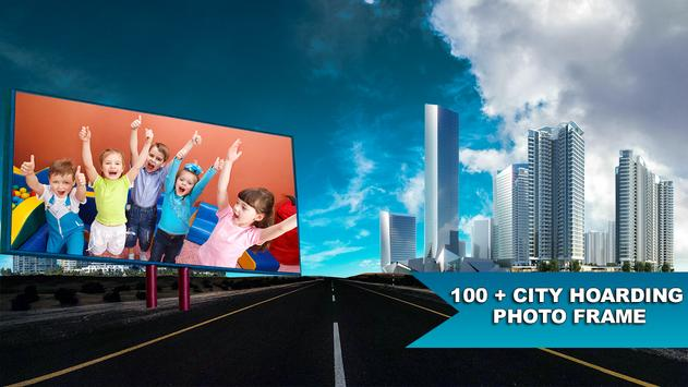 City Hoarding Photo Frames:Latest HD Billboards apk screenshot